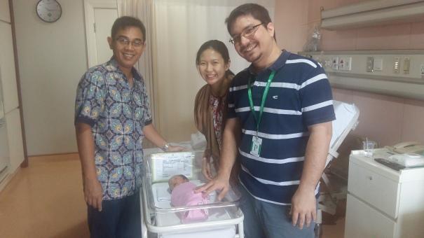 with dr. FX Bhimantoro, SpOG